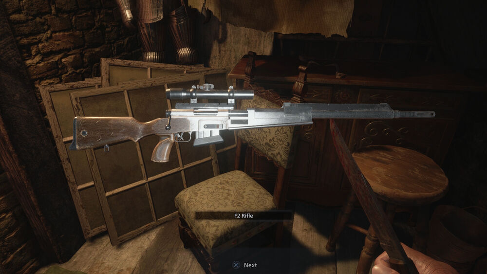 Find Weapons in Resident Evil Village