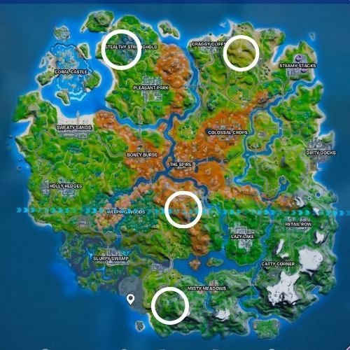 How to and Where to Hunt Predators in Fortnite
