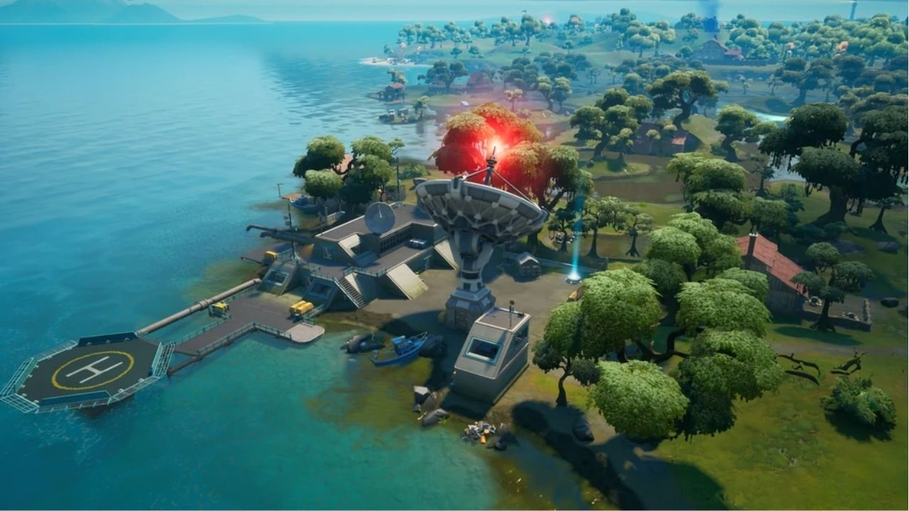 How to Collect IO Tech Weapons in Fortnite