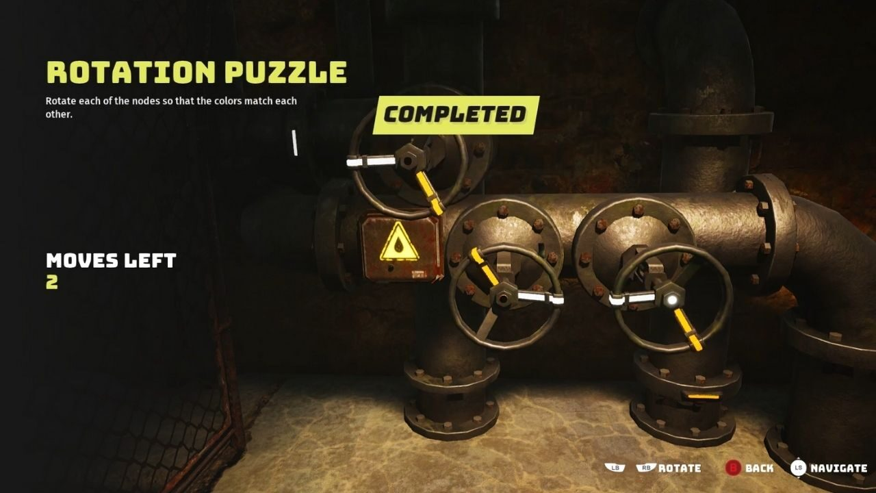 Solution to Rotation Puzzle in Bioumutant