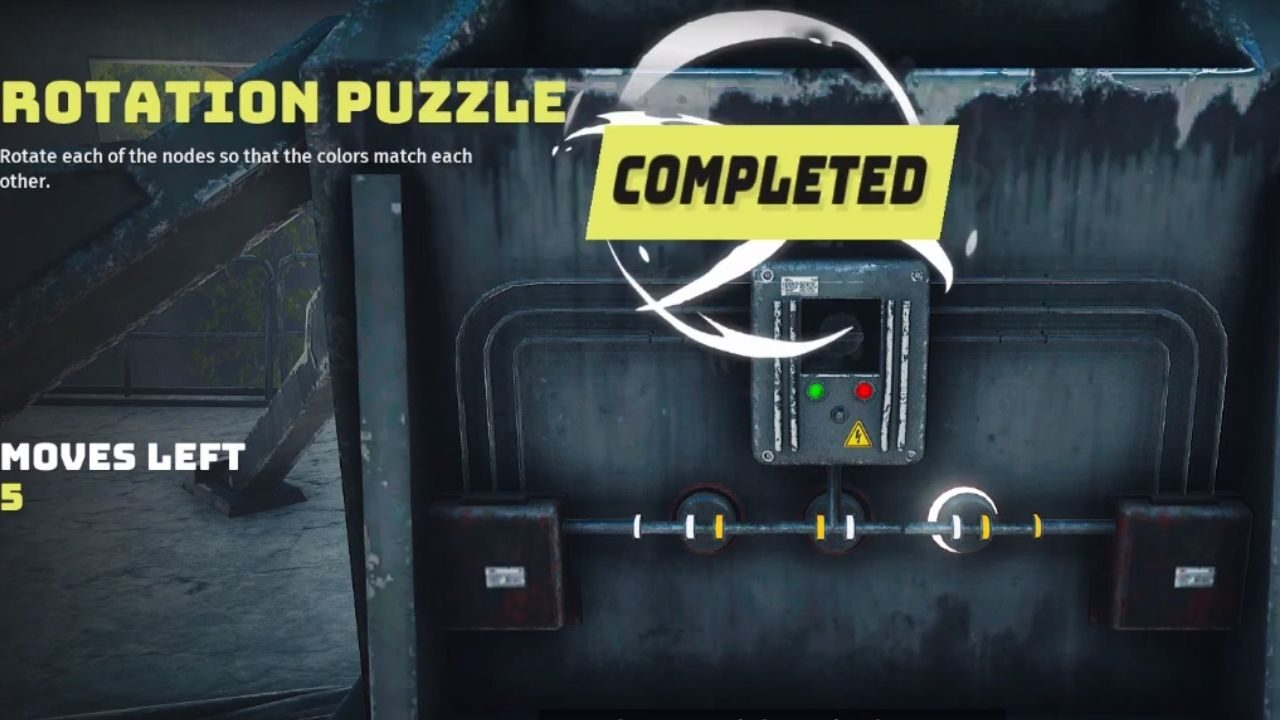 Rotation Puzzle in Biomutant