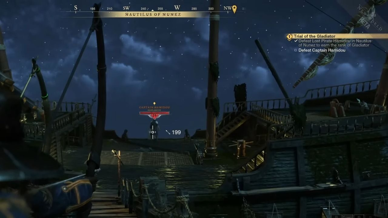 Trial of the Gladiator Quest Guide in New World